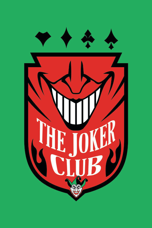The Joker - Club Fototapete
