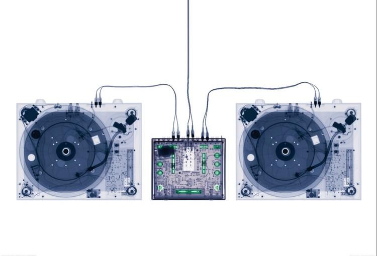 X-Ray DJ Decks Tapete