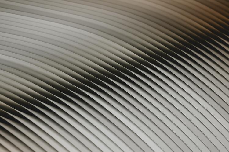 Abstract line beige 3 Fototapet