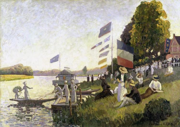 Camille Pissarro - Regatta Fototapet
