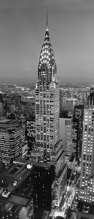 CHRYSLER BUILDING Fototapet
