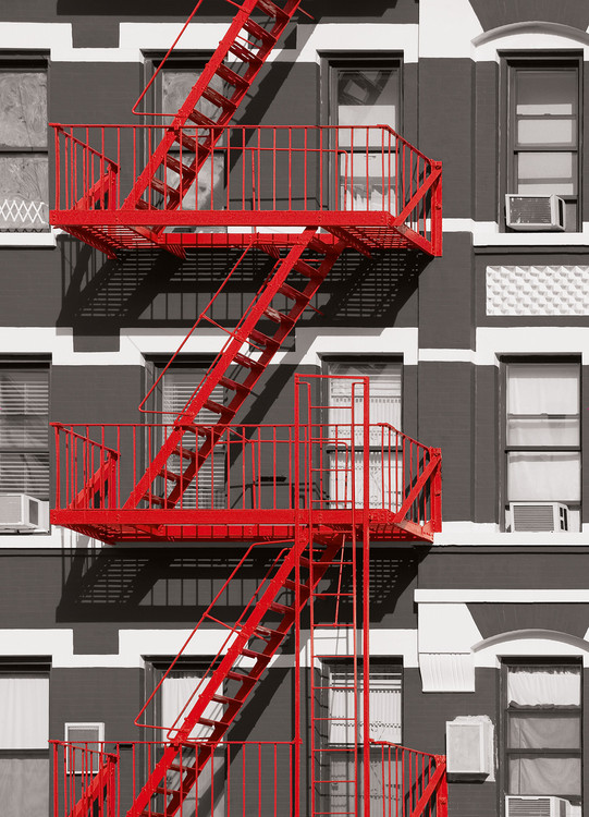 FIRE ESCAPE Fototapet