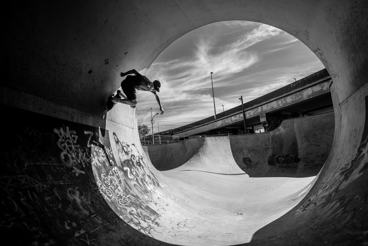 Full Pipe @ Sam Taeymans Fototapet