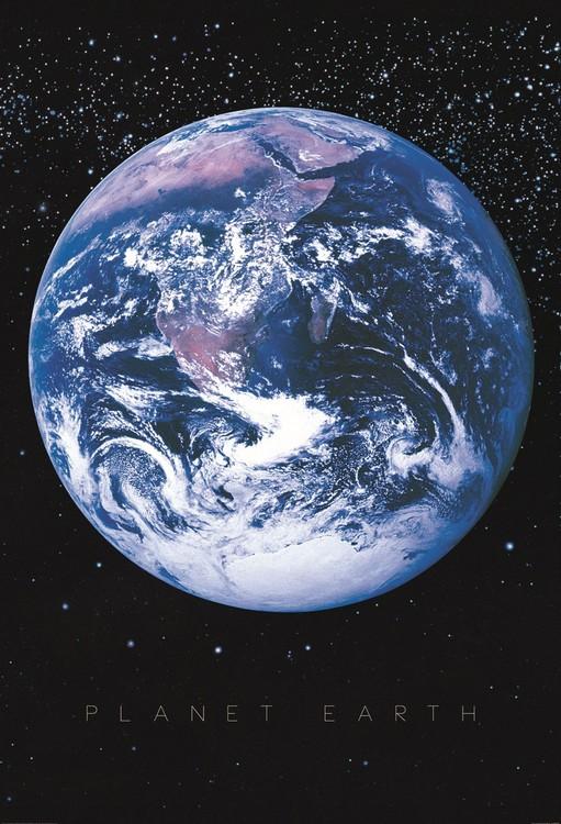 Planeten Jorden - Univers Fototapet