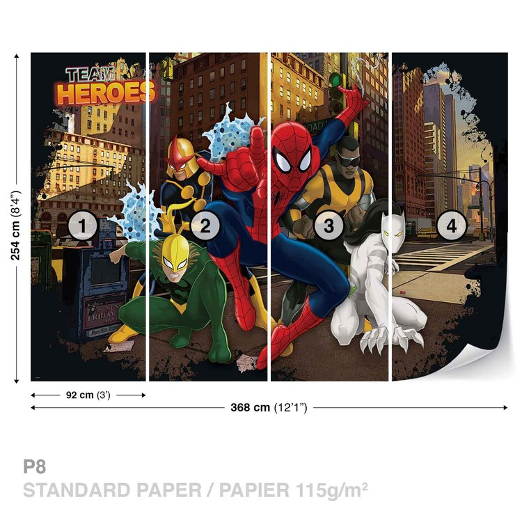 Spiderman Marvel Fototapet