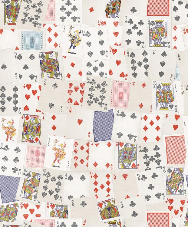 Spillekort Fototapet
