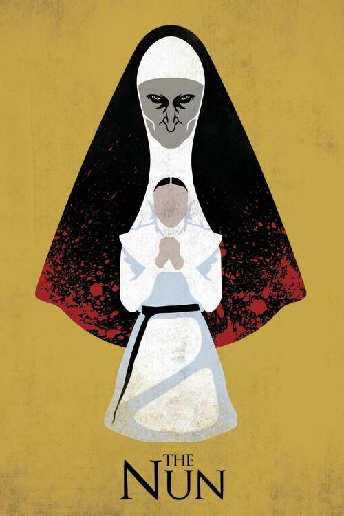 The Nun - Ondt bagud Fototapet