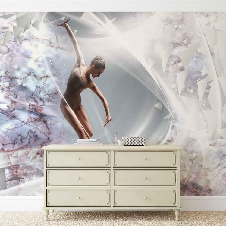 Abstrakcja - tancerz Fototapeta