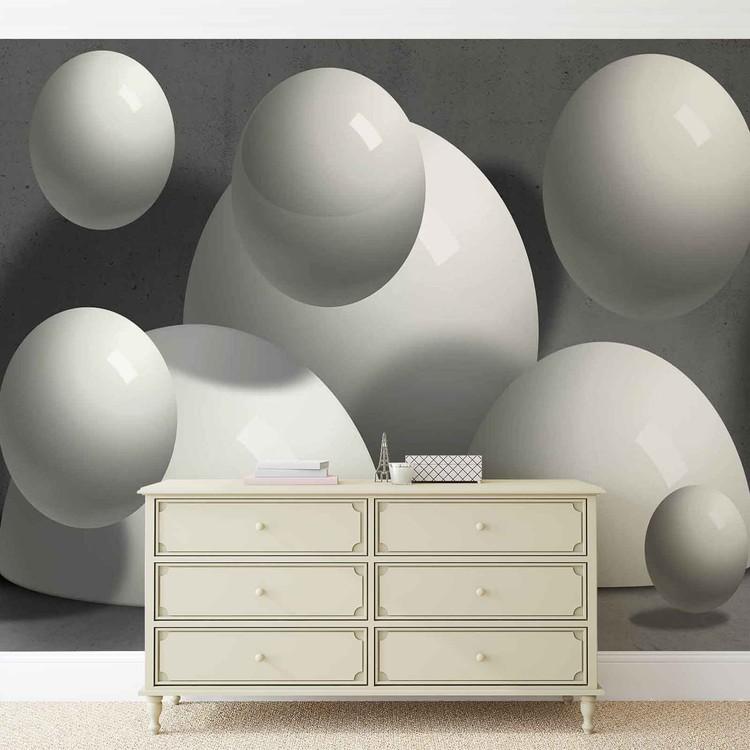 Fototapeta  Abstraktní umění - Monochromický design