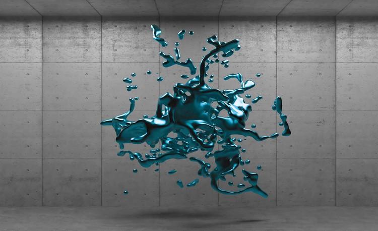 Fototapeta  Abstratkní umění - Beton