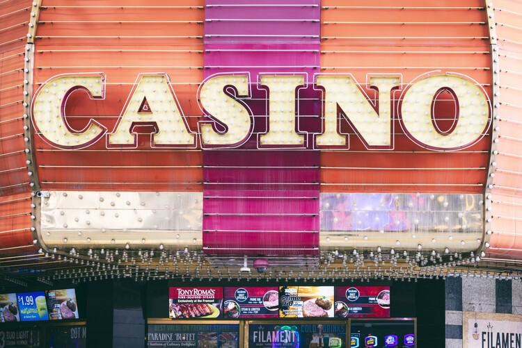 American West - Las Vegas Casino Fototapeta