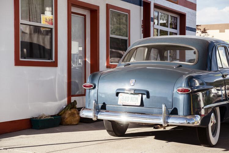 Fototapeta American West - Retro Ford Arizona