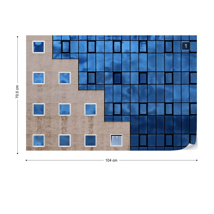 Blue Windows Fototapeta