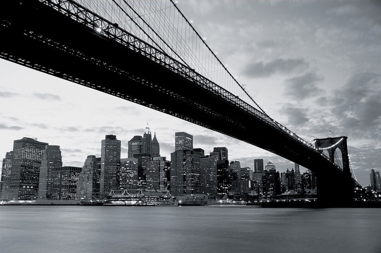 Fototapeta Brooklyn Bridge - New York