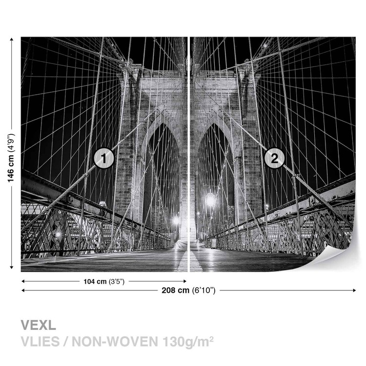 Fototapeta Brooklynský most New York