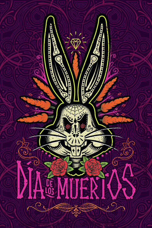 Fototapeta Bugs Bunny - Day of the Dead