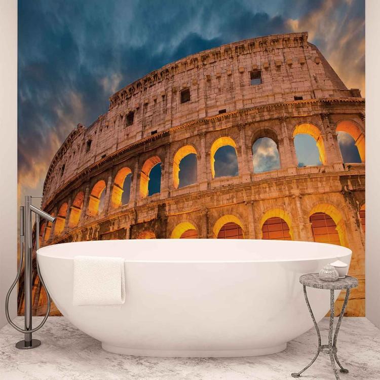 Fototapeta Colosseum City Sunset