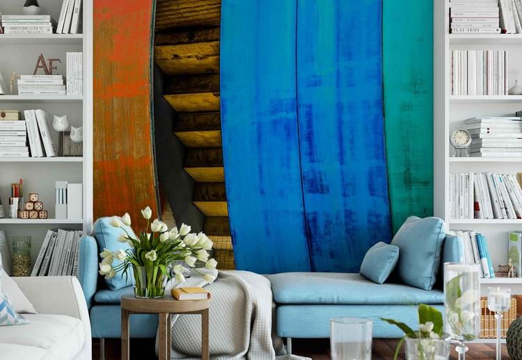 Fototapeta  Colourful Wood