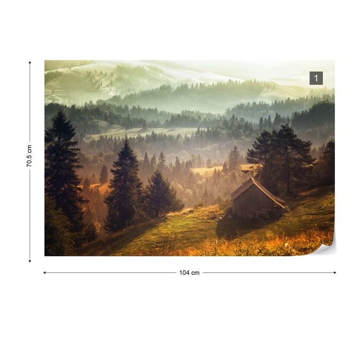 Fototapeta Cottage With Views