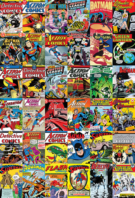 Fototapeta DC Comics Covers