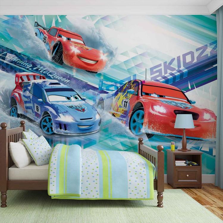 Fototapeta  Disney Cars Auta Raoul, McQueen