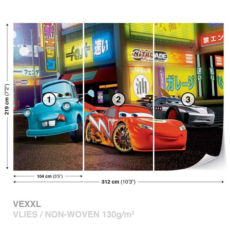 Fototapeta  Disney Cars Blesk McQueen