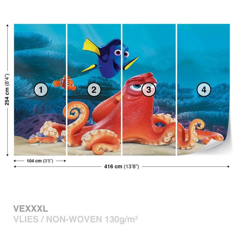 Fototapeta  Disney Hledá se Nemo, Dory