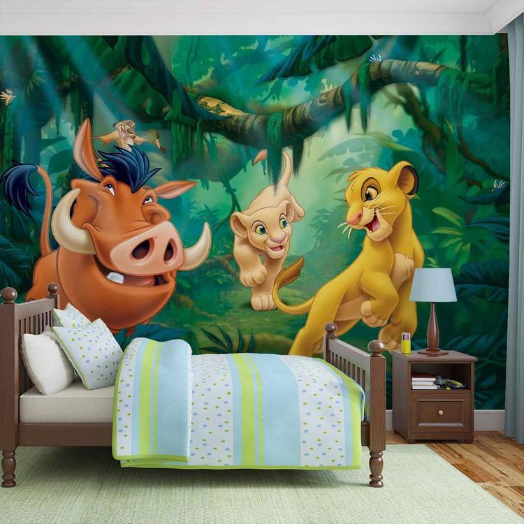 Disney Król Lew Pumba Simba Fototapeta