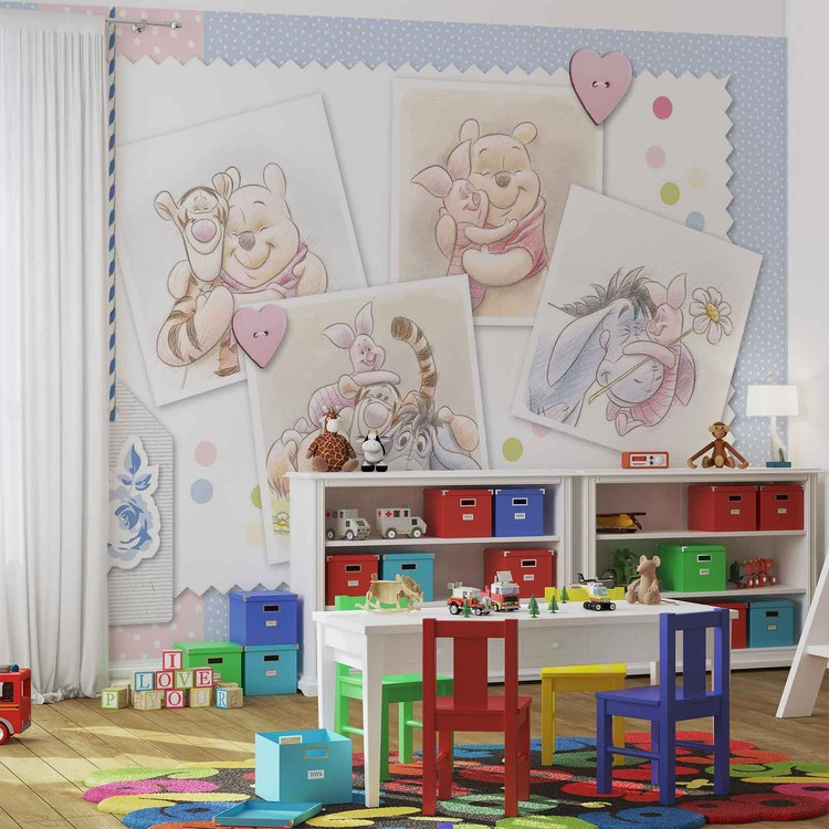 Fototapeta  Disney Medvídek Pú a Prasátko, Tygřík