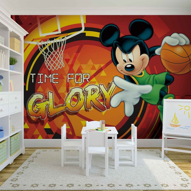 Yukle 750x750Disney Mickey Mouse Wall Paper Mural Buy At EuroPostersDisney Wallpaper