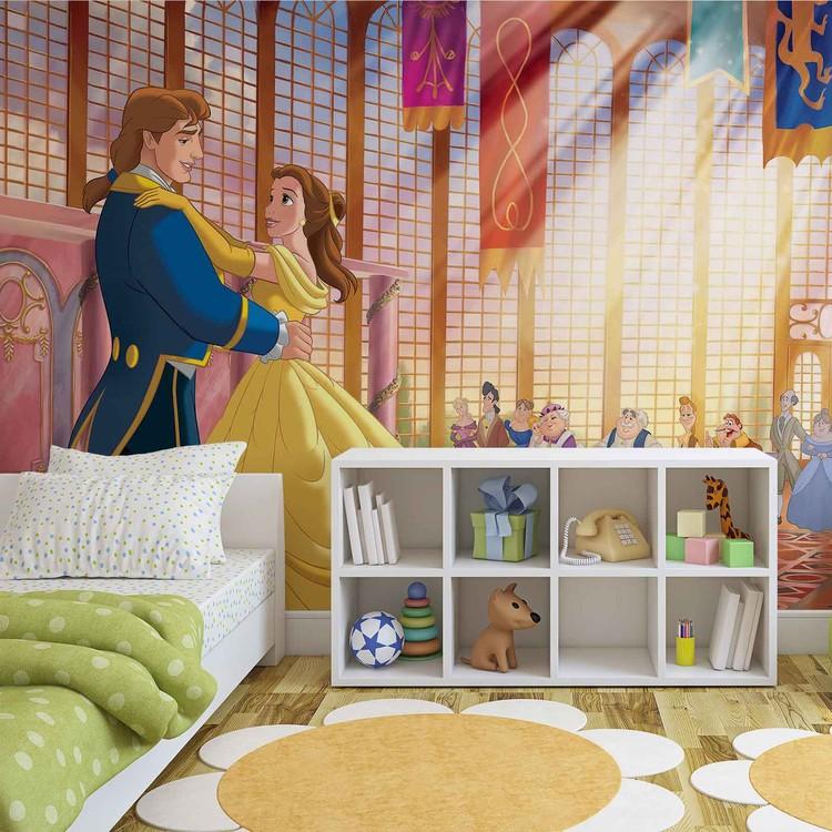 Fototapeta  Disney princezná - Kráska a zviera