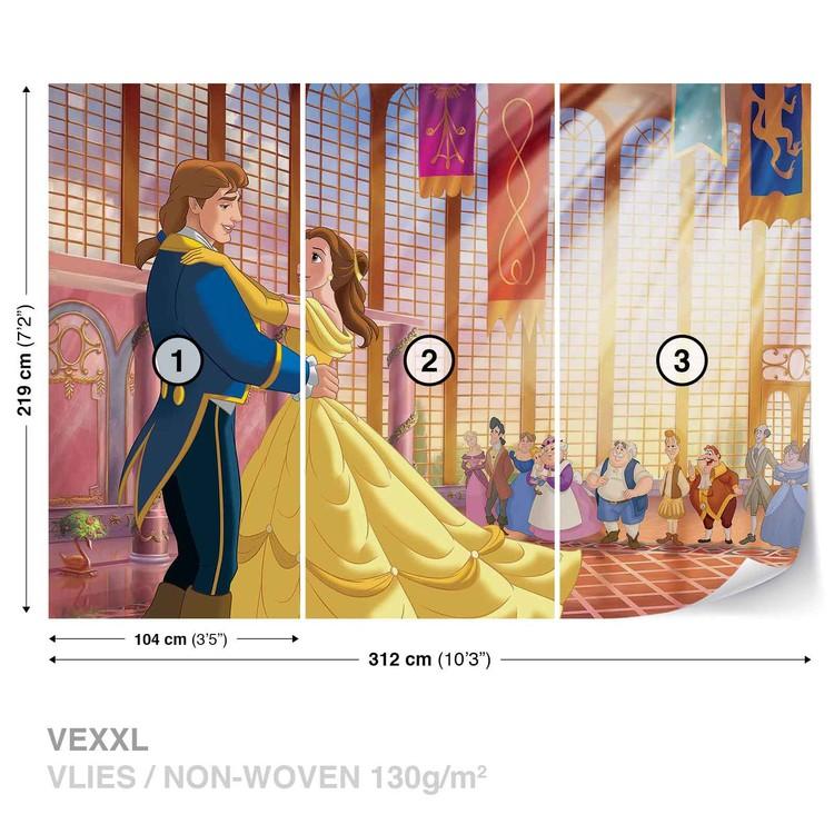 Fototapeta  Disney Princezny Belle - Kráska a zvíře
