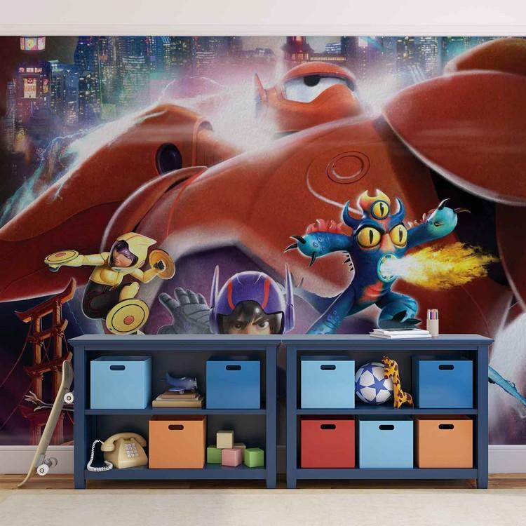 Disney - Wielka szóstka Fototapeta