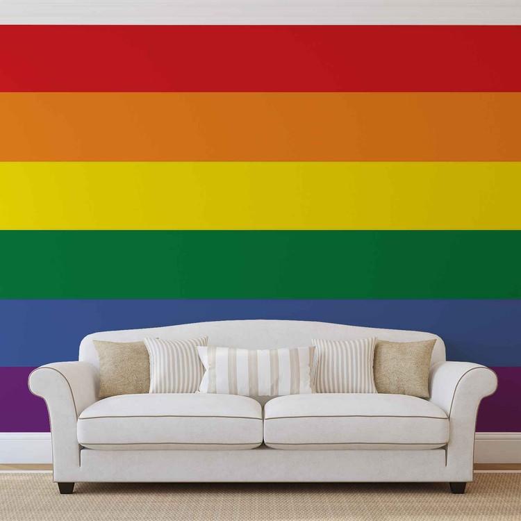 Fototapeta  Duhová vlajka - Gay Pride