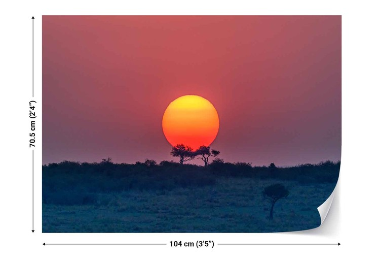 Fototapeta  Equatorial Sunset