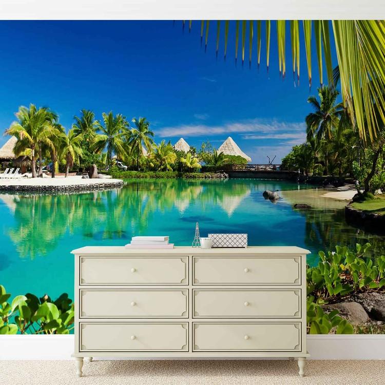 Fototapeta Exotická krajina, moře