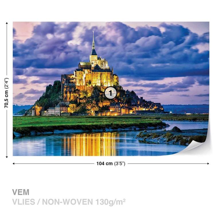 Fototapeta  Francie Mont Saint Michel