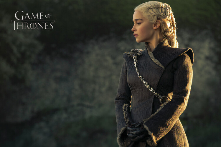Fototapeta Hra o Trůny  - Daenerys Targaryen
