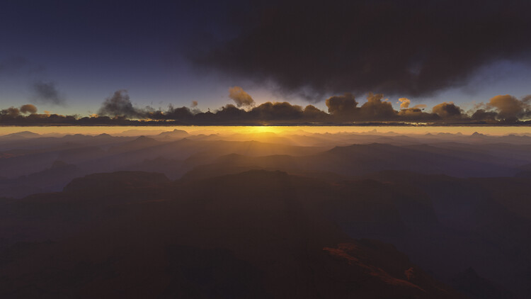 Hyper Real Landscapes series 3 Fototapeta