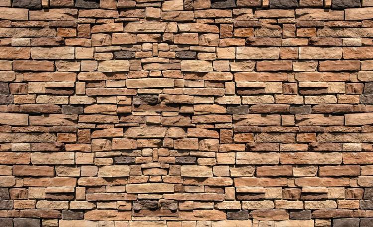 Fototapeta  Kamená stena - Imitácia kameňa