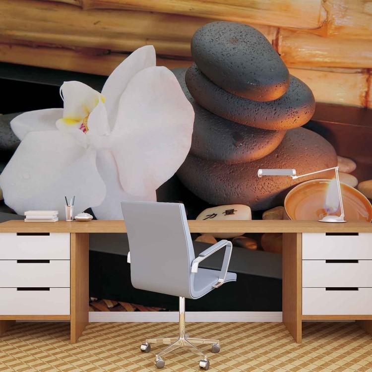 Fototapeta Kamení Zen, Meditace