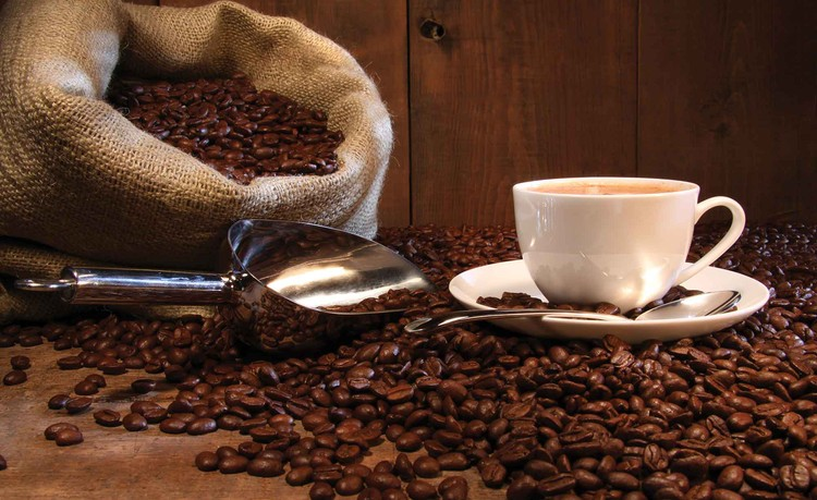 Fototapeta Káva, kavárna