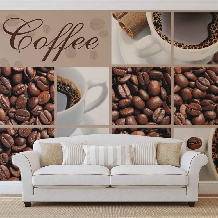 Fototapeta Káva, kaviareň