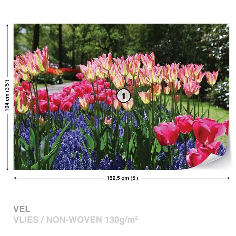 Fototapeta Květinové pole