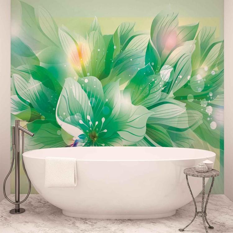 Fototapeta Květiny přírody zelené