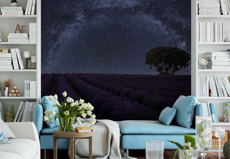 Fototapeta Lavender In Brihuega