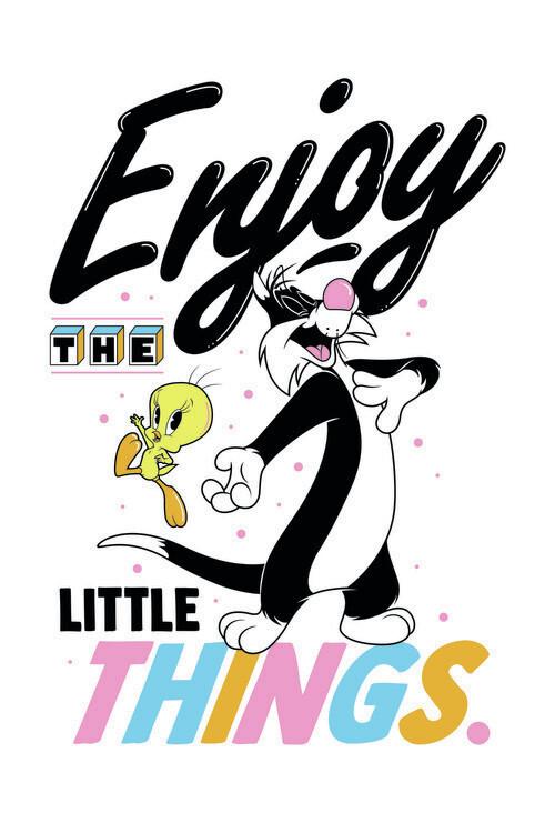 Fototapeta Looney Tunes - Enjoy the little things