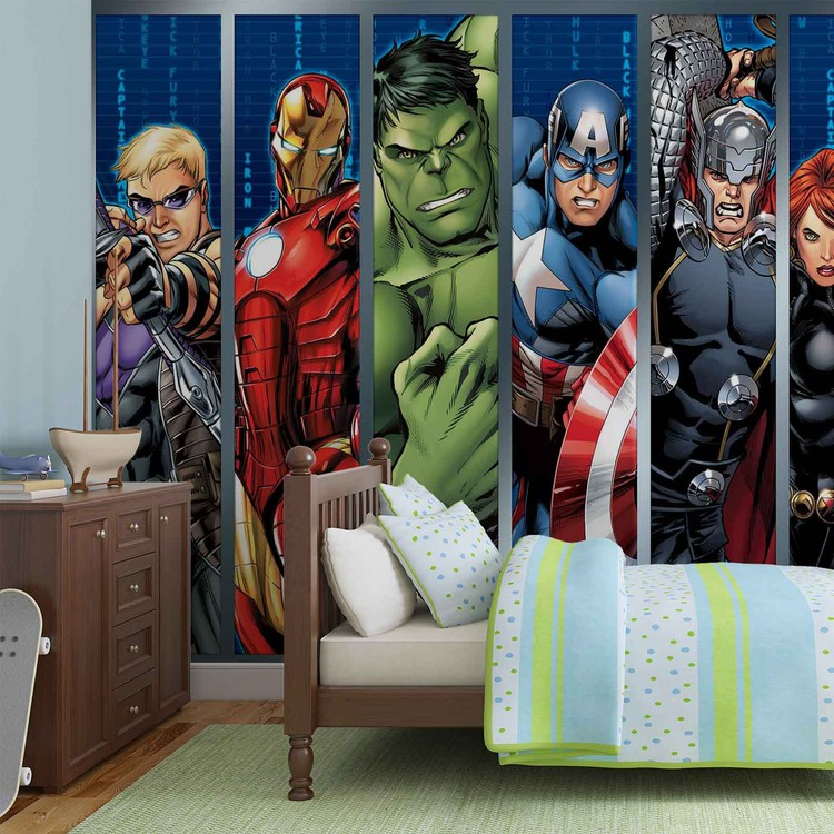 Marvel Avengers Fototapeta