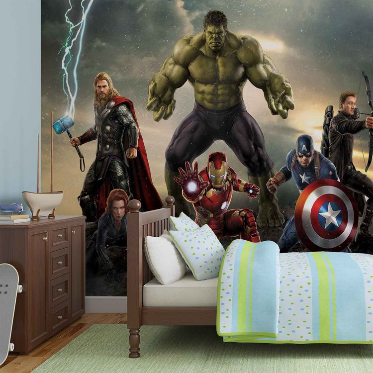 Fototapeta  Marvel Avengers Bitva