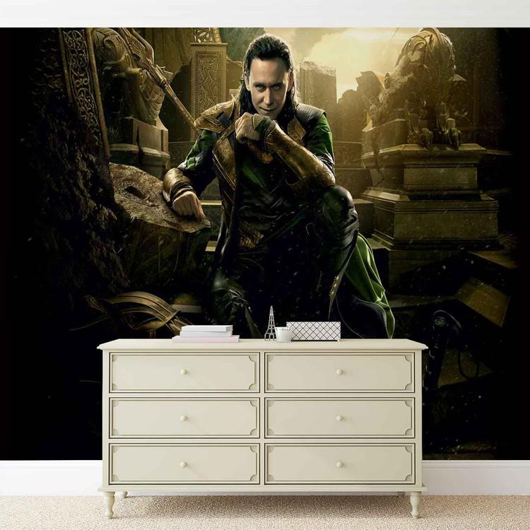 Marvel Avengers Loki Fototapeta